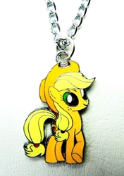 My Little Pony pendant alloy pendant necklace (orange pony) China, My Little Pony, Necklace, 2015|Color~orange|Color~yellow, cute animals