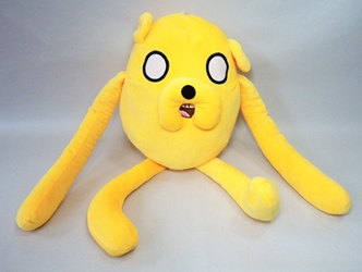 Adventure Time 18 inch Jake plush China, Adventure Time, Plush, 2015, adventure, cartoon