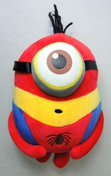 Despicable Me 8 inch plush Minion - Spider-Man Costume China, Despicable Me, Plush, 2015, animated, movie