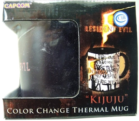 NECA Resident Evil 5 Kijuju Color Change Thermal Mug NECA, Resident Evil, Mug, 2009, scifi, horror, video game