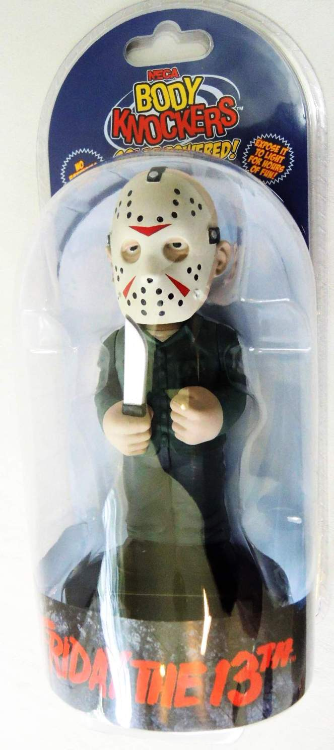 NECA Solar Powered Body Knocker - Friday the 13th Jason