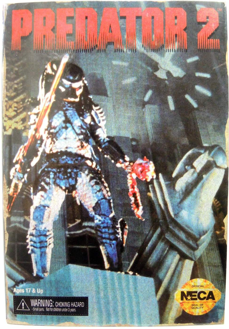 NECA Predator 2 Video Game 8 inch City Hunter Figure