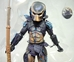 NECA Predator 2 Video Game 8 inch City Hunter Figure - 8547-8542CCVYCT