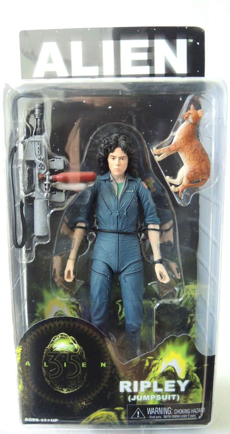 NECA Alien Series 4 Figure - Ripley (Jumpsuit) 7 inch NECA, Alien, Action Figures, 2015, scifi, movie