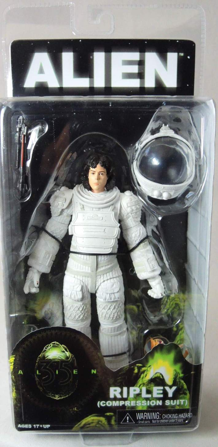 NECA Alien Series 4 Figure - Ripley (Compression Suit) 7 inch NECA, Alien, Action Figures, 2015, scifi, movie