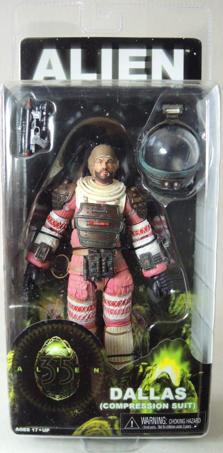 NECA Alien Series 4 Figure - Dallas (Compression Suit) 7 inch NECA, Alien, Action Figures, 2015, scifi, movie