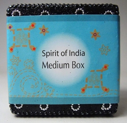 Spirit of India Medium Bejeweled Keepsake Box (black) Target, Spirit of India, Novelty Jewelry, 2005|Color~black