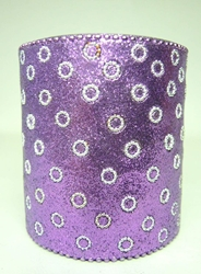 Spirit of India bejeweled Pen Cup (purple) Target, Spirit of India, Novelty Jewelry, 2005|Color~purple