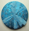 Spirit of India bejeweled Round Coasters (aqua) Target, Spirit of India, Novelty Jewelry, 2005|Color~blue