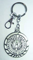 Battlestar Galactica Medallion keychain China, Battlestar Galactica, Keychains, 2015|Color~silver, scifi, tv show