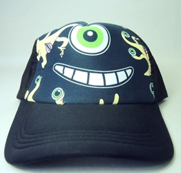 Kiseiju black cap with Parasite Migi smiling China, Kiseiju, Hats, 2015|Color~black, anime