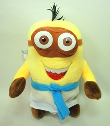 Despicable Me 8 inch plush Egyptian Minion  (2-eyed A) China, Despicable Me, Plush, 2015, animated, movie