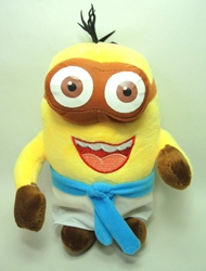 Despicable Me 8 inch plush Egyptian Minion  (2-eyed B) China, Despicable Me, Plush, 2015, animated, movie