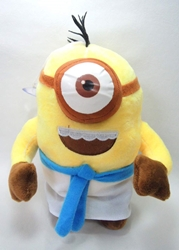 Despicable Me 8 inch plush Egyptian Minion  (1-eyed) China, Despicable Me, Plush, 2015, animated, movie