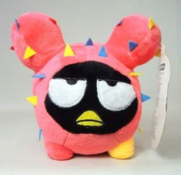 Sanrio Tokidoki Cactus Friends 6 inch plush (coral with black face)