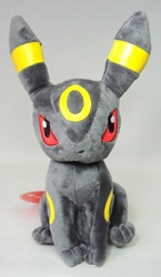 Pokemon 9 inch plush - Umbreon sitting China, Pokemon, Plush, 2015, animated, game