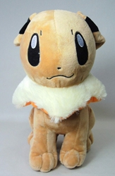 Pokemon 12 inch plush - Eevee sitting China, Pokemon, Plush, 2015, animated, game