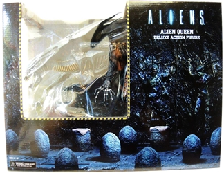 NECA Aliens Ultra Deluxe Alien Queen Xenomorph NECA, Aliens, Action Figures, 2015, scifi, movie