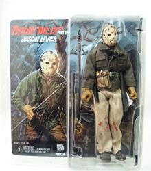 NECA Friday the 13th 8 inch Clothed Figure - Jason Part 6 NECA, Friday the 13th, Action Figures, 2015, horror, halloween, movie