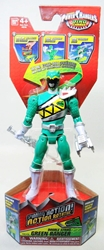 Power Rangers Dino Charge 6.5 inch Figure - Double Strike Green Ranger Bandai, Power Rangers, Action Figures, 2015, scifi, tv show