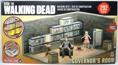 McFarlane The Walking Dead - The Governors Room McFarlane, Walking Dead, Action Figures, 2014, horror, halloween, tv show