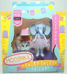 Mooshka Fairy Tales Friends 3.4 inch Figure - Elephant (blue) Zapf Creation, Mooshka, Action Figures, 2013, family