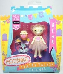 Mooshka Fairy Tales Friends 3.4 inch Figure - Bear Zapf Creation, Mooshka, Action Figures, 2013, family