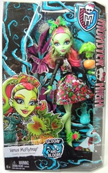 Monster High Gloom and Bloom Venus McFlytrap Doll Mattel, Monster High, Dolls, 2014, teen, fashion, movie