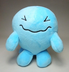 Pokemon plush 5.5 inch Wobbuffet (pale blue) China, Pokemon, Plush, 2015, animated, game