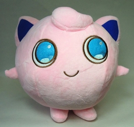 Pokemon plush 8 inch Jigglypuff (pink) China, Pokemon, Plush, 2015, animated, game