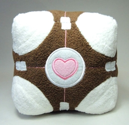 Portal 6 inch plush Love Cube China, Portal, Plush, 2015, scifi, video game