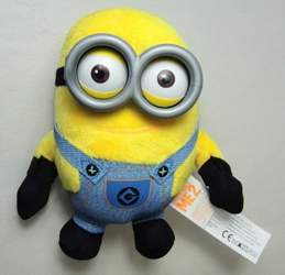 Despicable Me 5 inch plush Minion  (2-eyed) China, Despicable Me, Plush, 2015, animated, movie