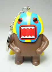 Domo 2 inch keychain - Lucha-Domo China, Domo, Keychains, 2015|Color~brown, kidfare, commercial