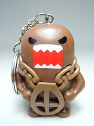 Domo 2 inch keychain - Hou-Domo the escape artist China, Domo, Keychains, 2015|Color~brown, kidfare, commercial