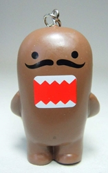 Domo 2 inch keychain - Major-Domo the butler China, Domo, Keychains, 2015|Color~brown, kidfare, commercial
