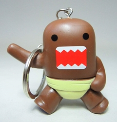 Domo 2 inch keychain - Sumo-Domo China, Domo, Keychains, 2015|Color~brown, kidfare, commercial