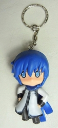Vocaloid 2.25 inch keychain - Kaito (blue hair) China, Vocaloid, Keychains, 2015|Color~blue|Color~white, anime, japan