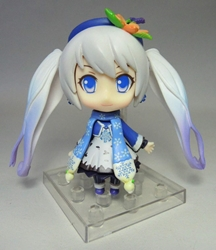 Vocaloid 3.25 inch figure - Wintertime Hatsune Miku (blue beret) Xin Hao, Vocaloid, Action Figures, 2015, anime, japan