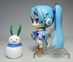 Vocaloid 3.25 inch figure - Wintertime Hatsune Miku (with snowman) - 8799-8750CCCUCG