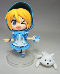 Vocaloid 4 inch figure - Blonde Hatsune Miku (winking) China, Vocaloid, Action Figures, 2015, anime, japan