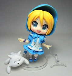 Vocaloid 4 inch figure - Blonde Hatsune Miku (talking - mouth open) China, Vocaloid, Action Figures, 2015, anime, japan