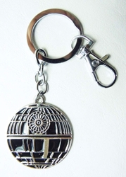 Star Wars The Death Star metal alloy keychain China, Star Wars, Keychains, 2015|Color~silver|Color~black, scifi, movie