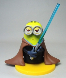 Star Wars Minions 3 inch Figure - Jedi Knight China, Despicable Me, Action Figures, 2015, animated, movie
