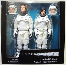NECA Interstellar Action Figure 2-pack NECA, Interstellar, Action Figures, 2015, scifi, movie