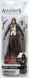 McFarlane Assassins Creed 6 inch figure - Arno Dorian McFarlane, Assassins Creed, Action Figures, 2014, warriors, video game