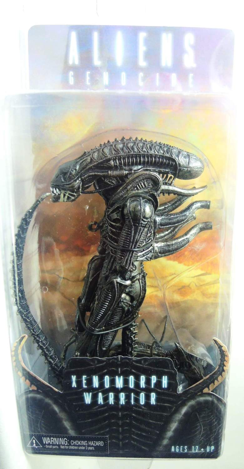 NECA Aliens Series 5 Figure - Xenomorph Warrior (black)