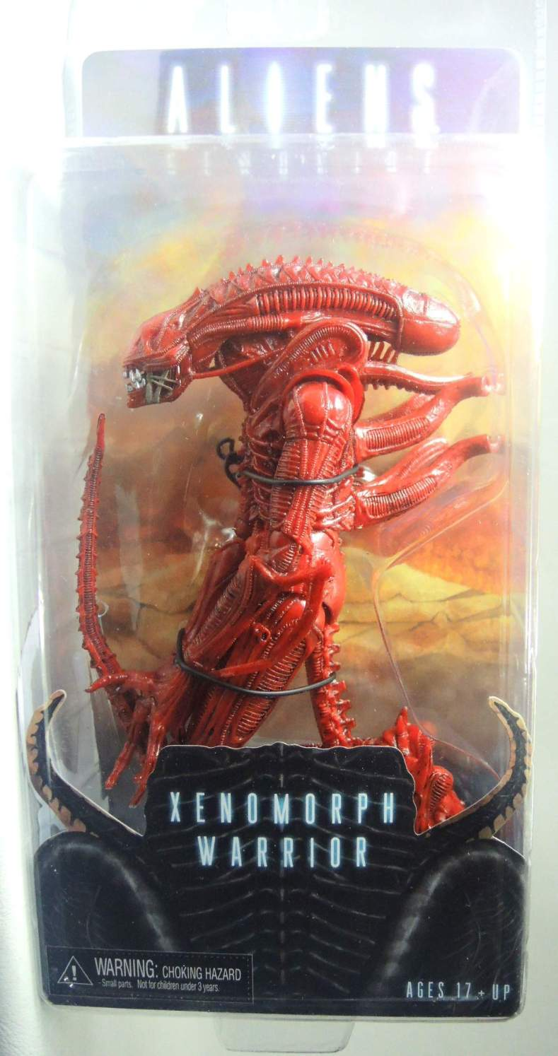 NECA Aliens Series 5 Figure - Xenomorph Warrior (red)