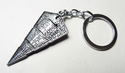 Star Wars  Imperial Star Destroyer alloy keychain (pewter) China, Star Wars, Keychains, 2015|Color~pewter, scifi, movie