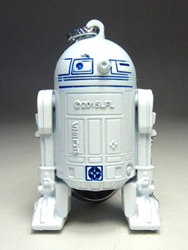 Star Wars  Astromech Droid R2D2 alloy keychain China, Star Wars, Keychains, 2015|Color~white, scifi, movie