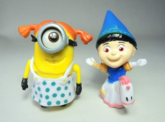 Despicable Me 2 inch figurines - Agnes & Sleepover minion China, Despicable Me, Action Figures, 2015, animated, movie